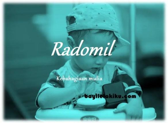 arti nama Radomil