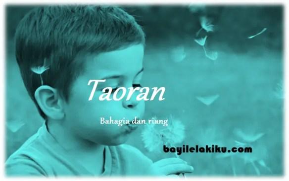 arti nama Taoran