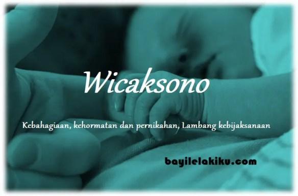 arti nama Wicaksono