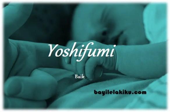 arti nama Yoshifumi
