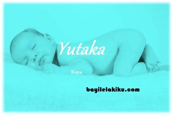 arti nama Yutaka