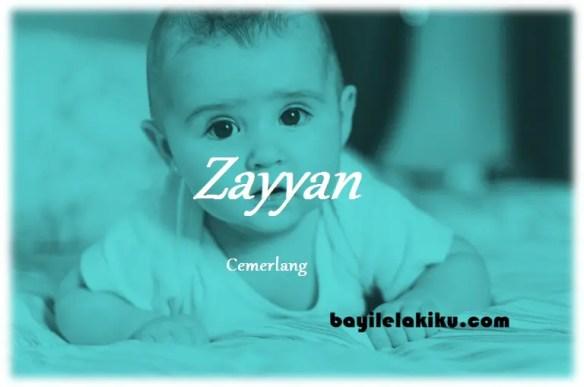 arti nama Zayyan