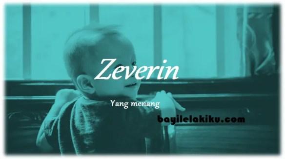 arti nama Zeverin