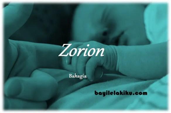 arti nama Zorion