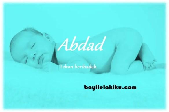 arti nama Abdad