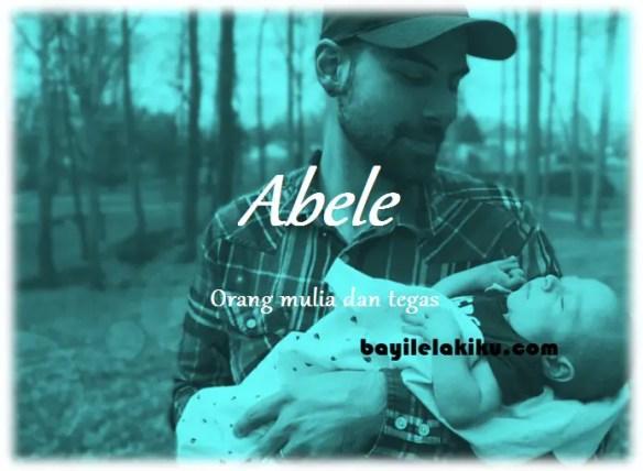 arti nama Abele