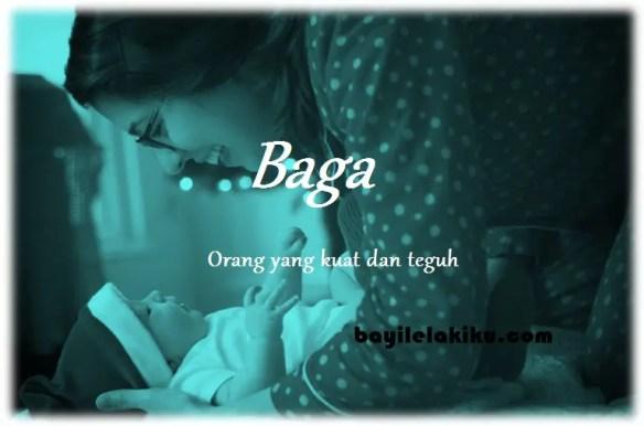 arti nama Baga