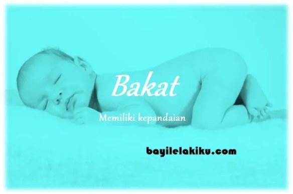 arti nama Bakat