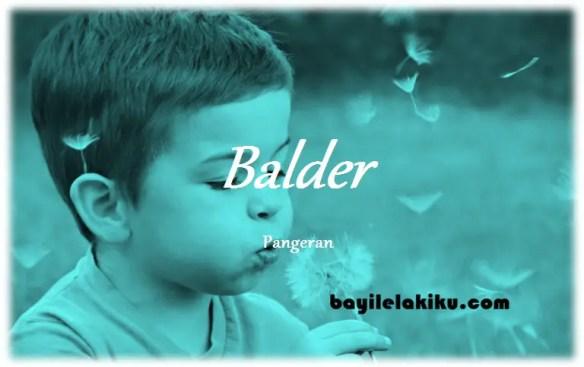 arti nama Balder