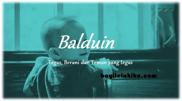 arti nama Balduin