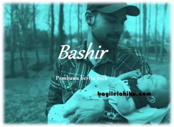 arti nama Bashir