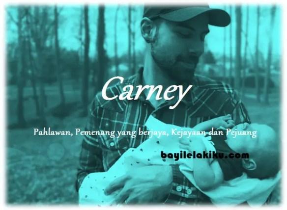 arti nama Carney