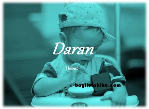 arti nama Daran