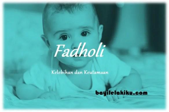 arti nama Fadholi