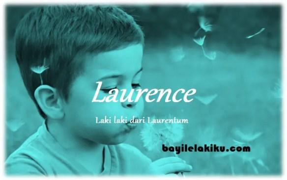 arti nama Laurence