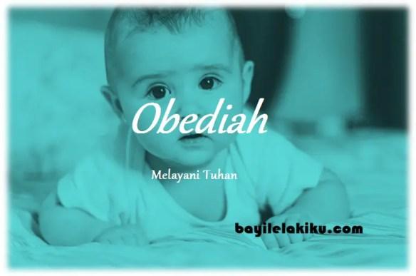 arti nama Obediah