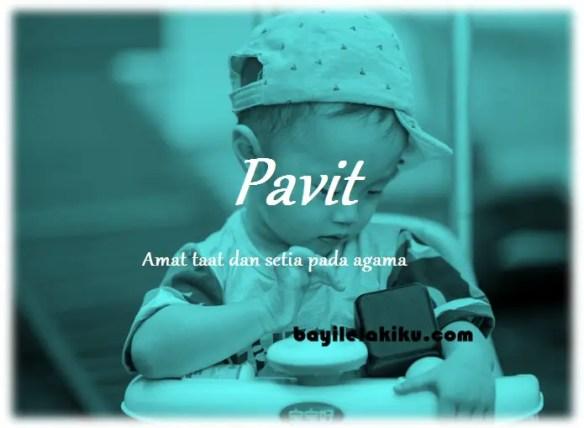 arti nama Pavit