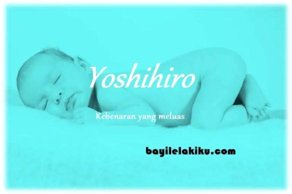 arti nama Yoshihiro