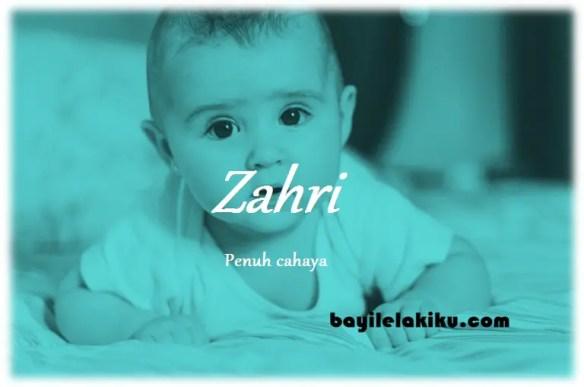arti nama Zahri