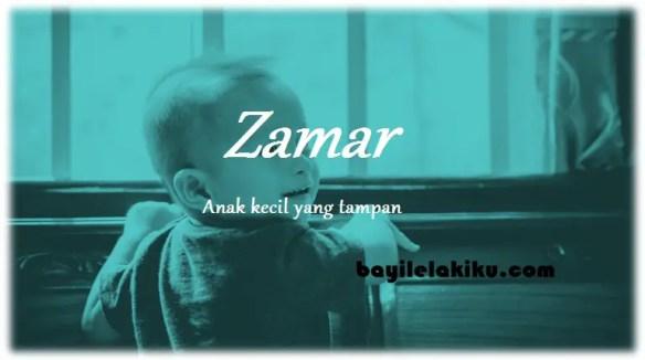 arti nama Zamar