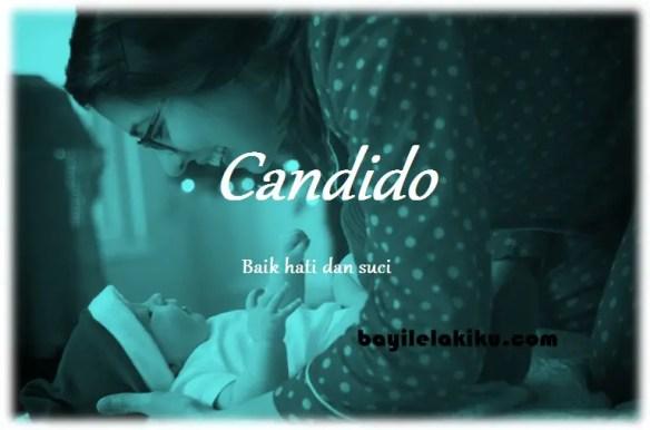 arti nama Candido