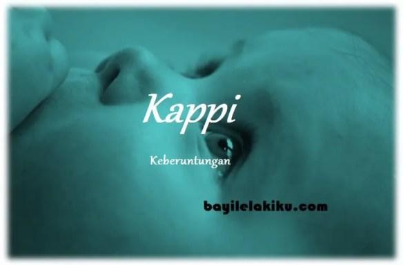 arti nama Kappi