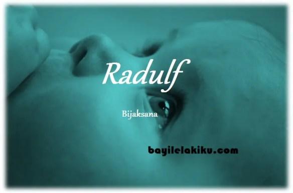 arti nama Radulf