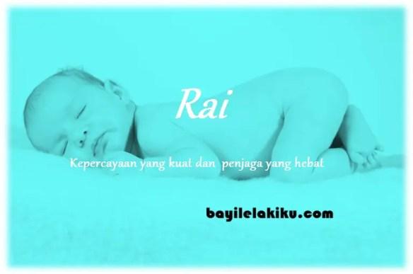 arti nama Rai