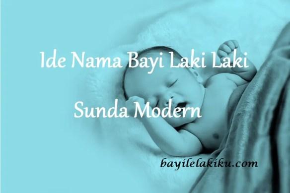Nama Bayi Laki Laki Sunda Modern