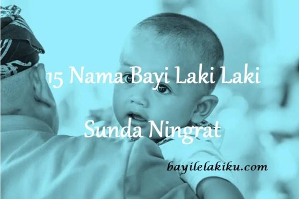 Nama Bayi Laki Laki Sunda Ningrat