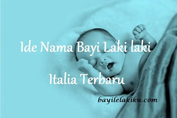Nama Bayi Laki laki Italia