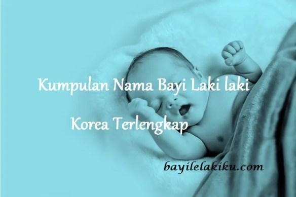 Nama Bayi Laki laki Korea Terlengkap