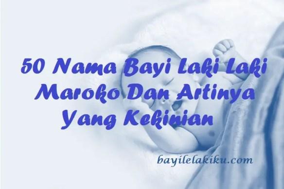 Nama Bayi Laki Laki Maroko