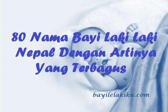 Nama Bayi Laki Laki Nepal
