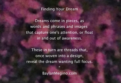 Finding Your Dream by Baylan Megino