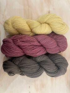 4 ply/fingering corriedale wool - naturally hand-dyed in victoria