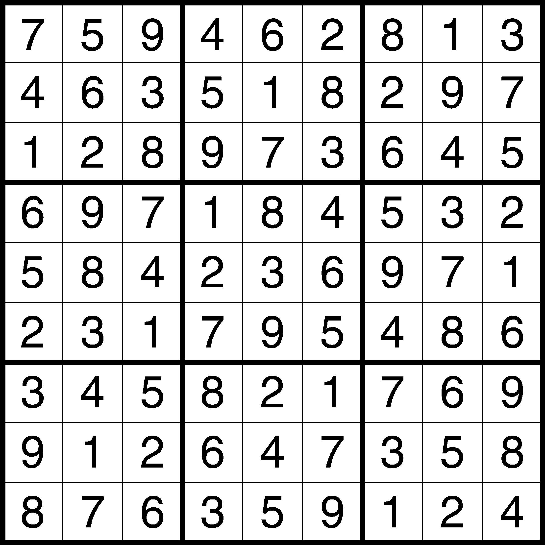 Sudoku Solution 1 25 11