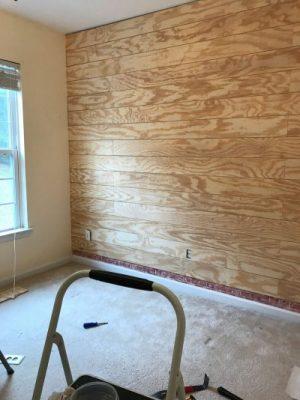 plywood shiplap