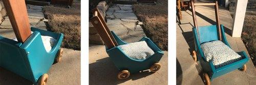 Wooden Baby Stroller Photos