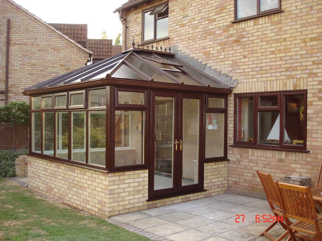 which conservatory roof polycarbonate or solar control. Black Bedroom Furniture Sets. Home Design Ideas