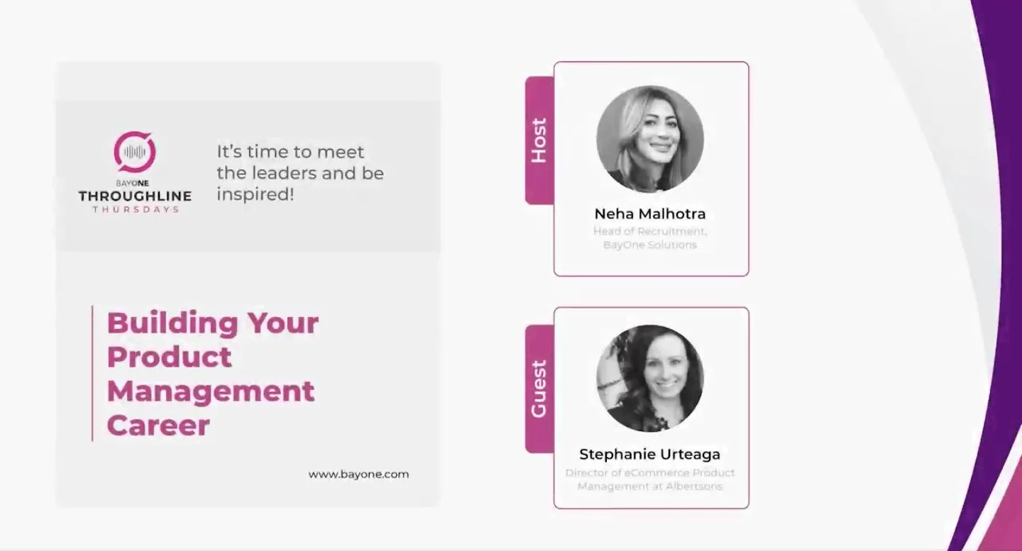 Building your product management career