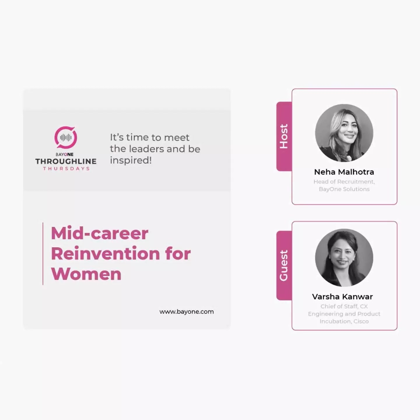 Mid-career Reinvention for Women