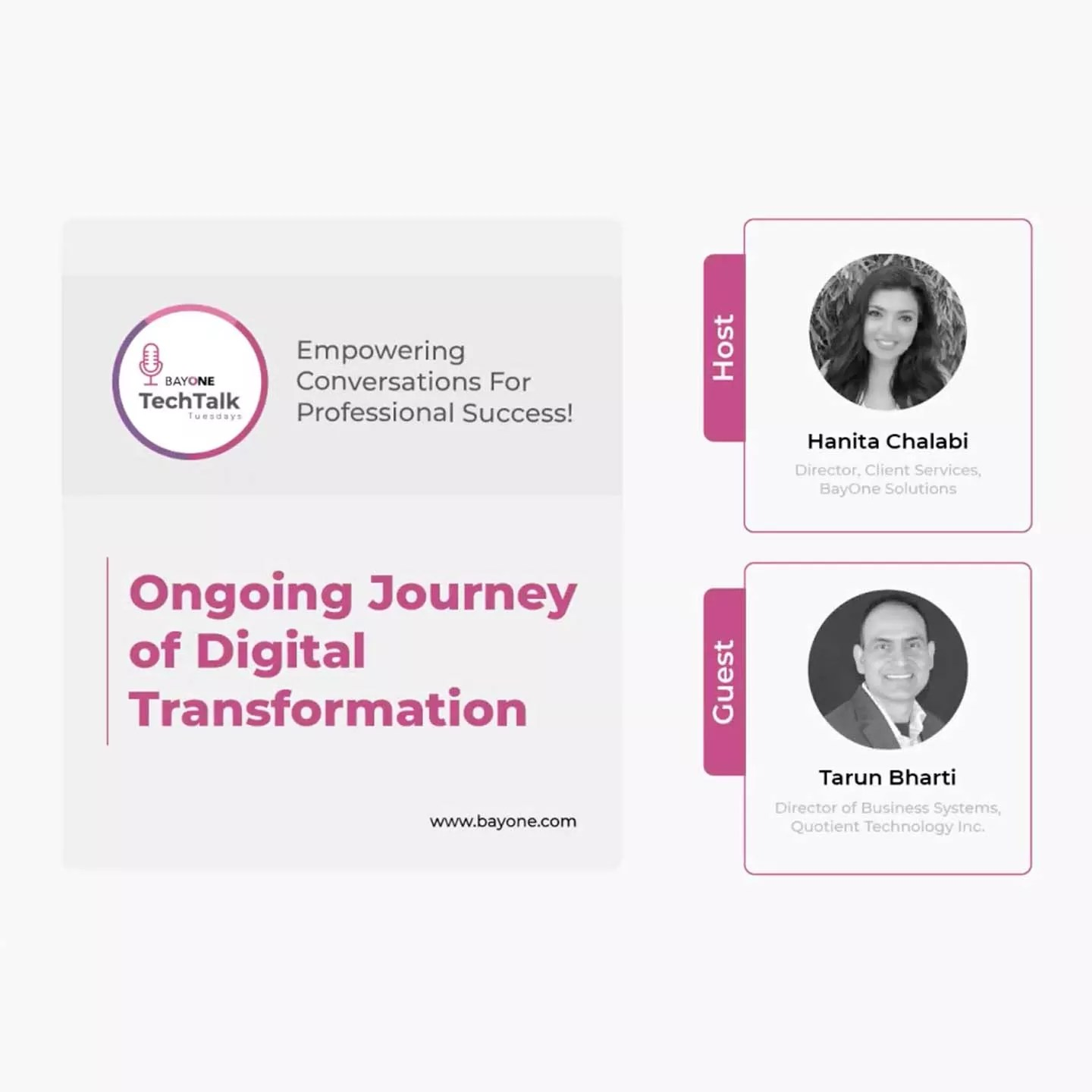 Ongoing Journey of Digital Transformation