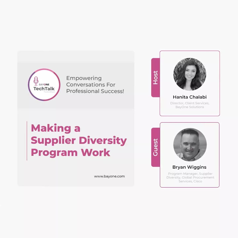 Making a Supplier Diversity Program Work