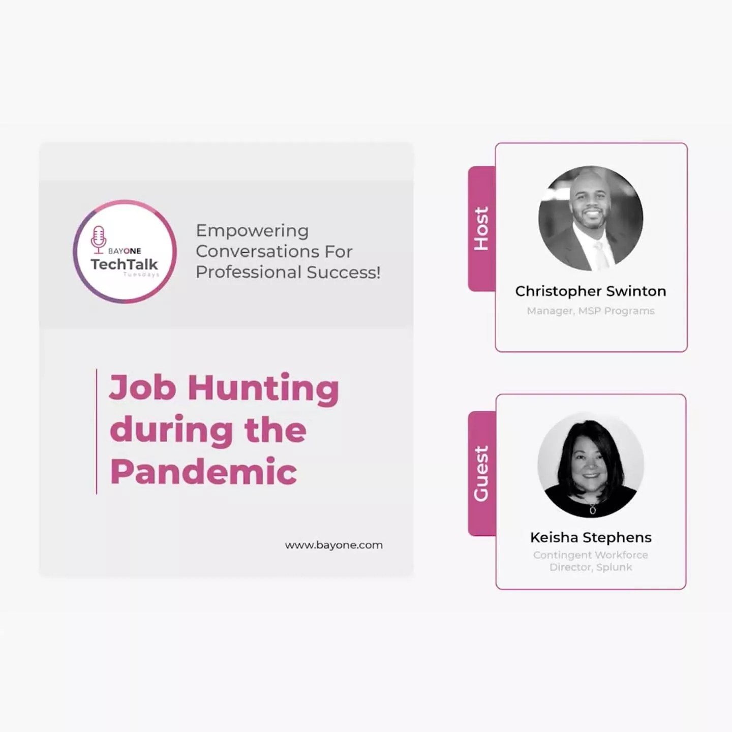 Job Hunting during the Pandemic