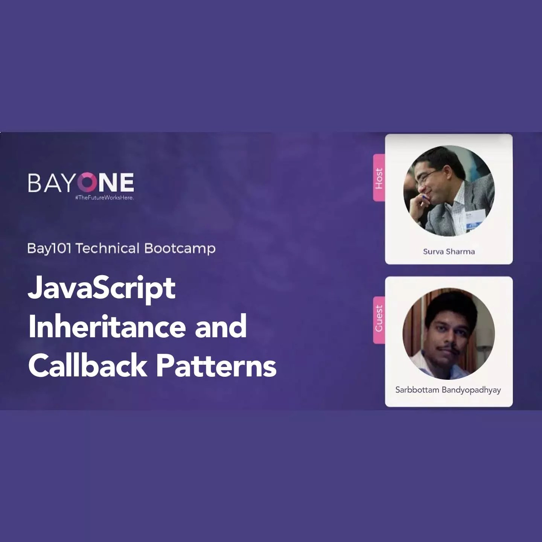 JavaScript Inheritance and Callback Patterns