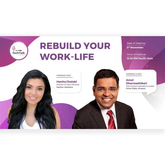 ReBuild your Work-life with Amol Dharmadhikari