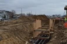 Berm Construction (North Side) (12/2014)