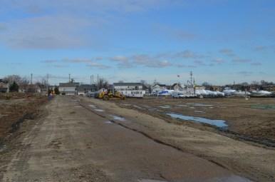 Berm Construction (East Side) (12/2014)