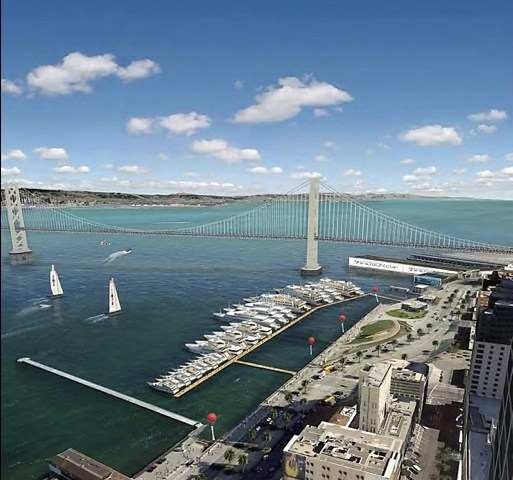 Cup's yacht plan threatens our wide-open bay views